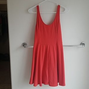 Red Hollister Tank Dress
